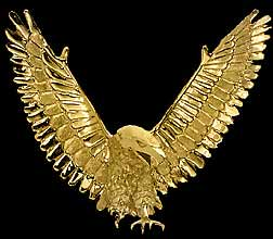 Bird jewelry pendant victory eagle (10645 bytes)